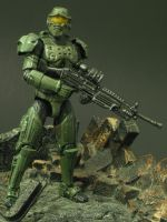 Master Chief GI Joe by Shinobitron