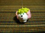 Clay Shaymin Charm by chibimemories