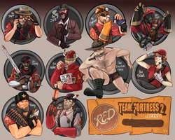 Tf2 classes by Fataldose