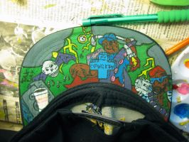 My First Graffiti Hat by AnnieHoppe