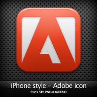 iPhone style - Adobe CS3 icon by YaroManzarek