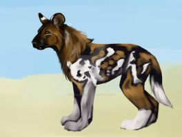 Beefed Up Puppy by scaramouche2802