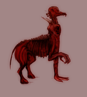 Silent Hill Monster: Struggle by Horus-The-Chorus