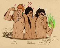 My Three Favorite Beefcakes by whenpigsfly8992