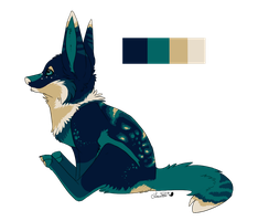 Fox - design commission by Sushi