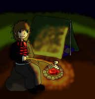 Camping by Bloodstainedhowl