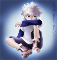 Killua Zoldyck_Digital by Meya-san