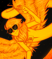 Homestuck: Davesprite by Le-Juge