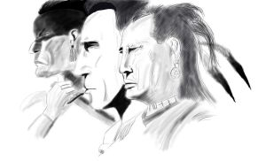 Last of the Mohicans by happycdjohnson