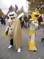 rokusho and metabee lucca 2010 by sakata92