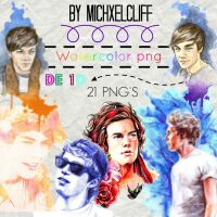 PackWatercolor1D by MichxelCliff