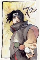 Itachi DANGO TIME by Valhalrion