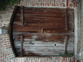 Wooden Door by stanstocks