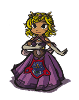 New Hyrule Princess by Linkerbell