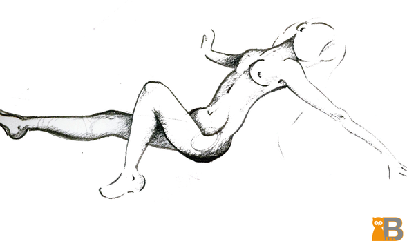 Study - Female Body by TheDesignRacoon