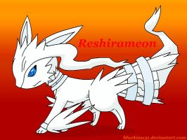 Fakemon 2- Reshirameon by Bluekiss131