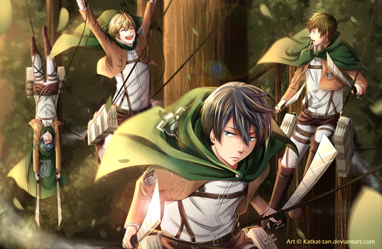 Shingeki no FREE! by Katkat-Tan