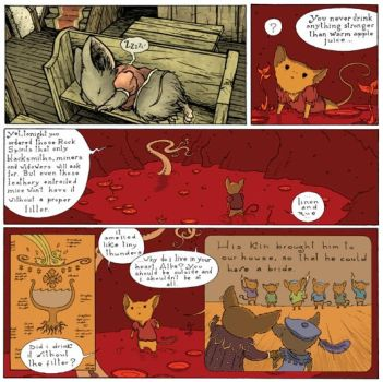 Mouse Guard - LOTG Epilogue p1 by JoaoLemos