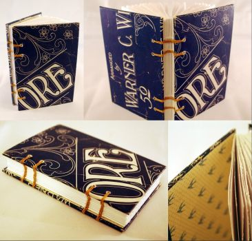 Vintage Blue Sheet Music Book by sweet-travesty