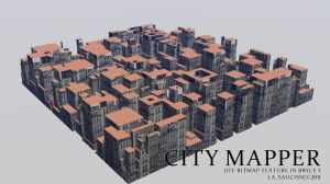 City Mapper in Bryce 5 by lasaucisse