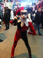 Harley Quinn - Back and ready to shoot! by Bene-hime