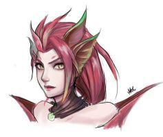 Scrap - Zyra by mythgarnets