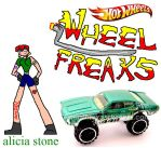 wheel freaks character alicia stone by NickMaster64