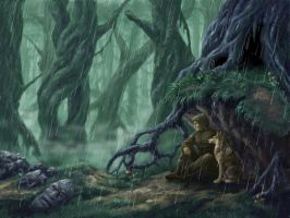 Rainy Forest by Sikarbi