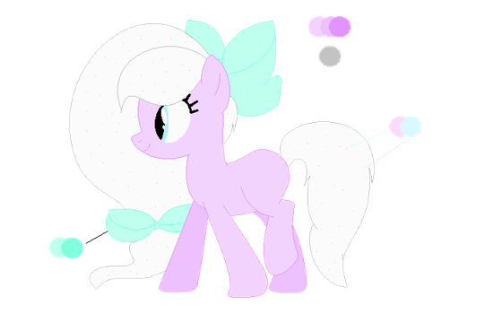 .: Adoptable :. Cupcake Pony Adopt by FuzzyKitten315