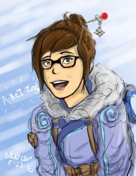 Mei - Overwatch by Goldencard