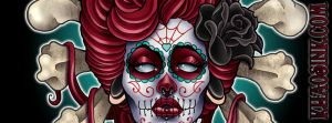 Day of the Dead Facebook Banner by SpikeJones67