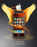 iPhone Pheonix by Usakei
