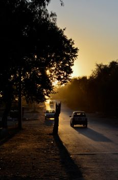 Sunset Street by aam1r-javed