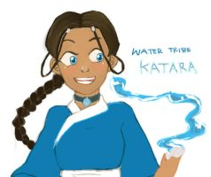 Water Tribe Katara by psycheJ93