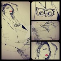 Fashion Illustration by Miss-JM