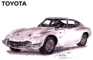 Toyota 2000GT Coupe by toyonda