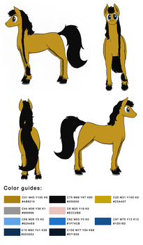 Ref Sheet: Dark by DarkHestur