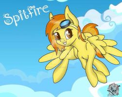 MLP spitfire (hair down)  by StoneWare13