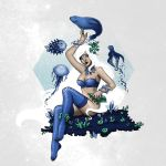azurite deep fairy by Kordelia