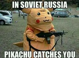In Soviet Russia by TheFunnyAmerican