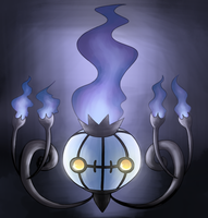 Chandelure by Reaper-Mcasaurus