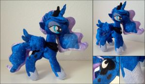Princess Luna plush (SOLD) by LtiaChan