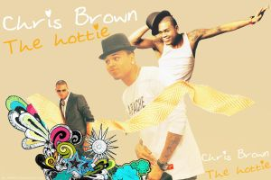 Chris Brown 3 - Wallpaper by me969