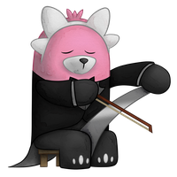 PokeCharity Collab - Bewear Playing A Musical Saw