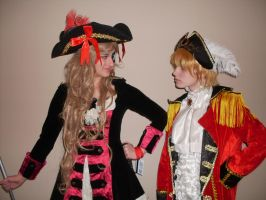 Ohayocon 2013: Fem!Sealand vs Pirate!England by chippy-lightgaia