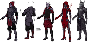 ADAMANT outfits by tigr3ss