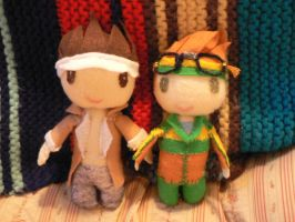 Dance Central Plushies by ninjakitty-17