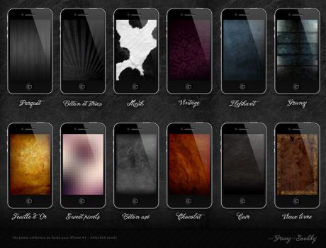 Some HD wallpapers for iPhone by GrunySo