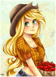 Applejack by Nataliadsw