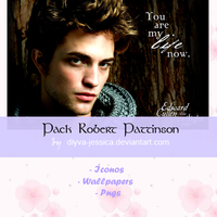 Pack Robert Pattinson by DiyVa-Jessica